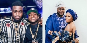 """""""Your wife cannot cook and you are happy about marriage"""" – Fans blast Davido's brother, Adewale and wife for always visiting the restaurant"""